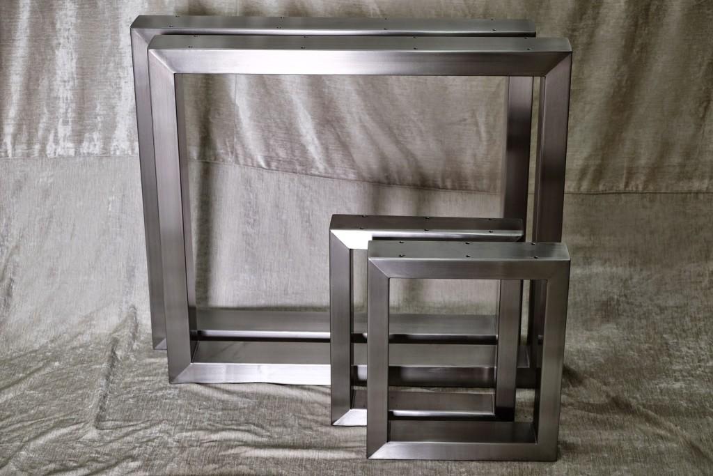 Tischkufen 100x50 und Bankkufen 100x40