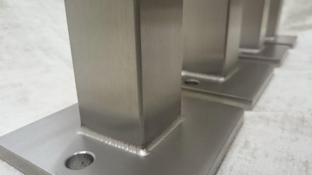 Tischsäule 40x40