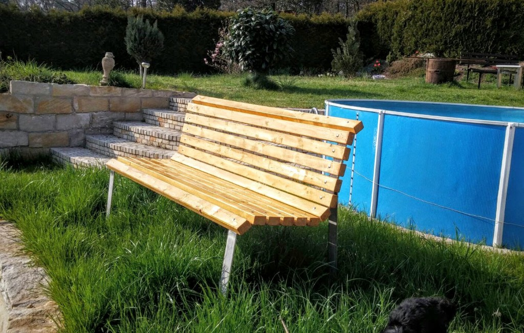 Gartenbankgestelle