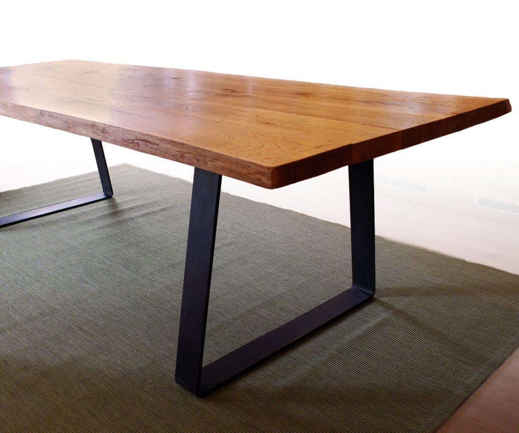 Tischkufen konisch gebogen 100x12