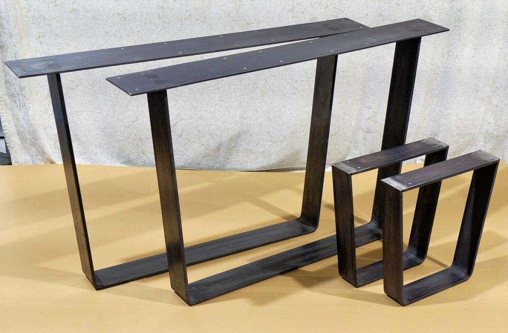 Tischkufen Gestell 100x10 u. 80x10
