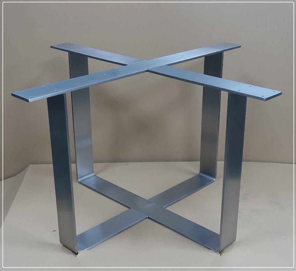 Tischgestell Kreuzgestell Edelstahl